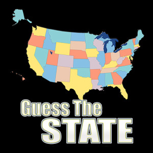 Guess the US State - Word Puzzle Game